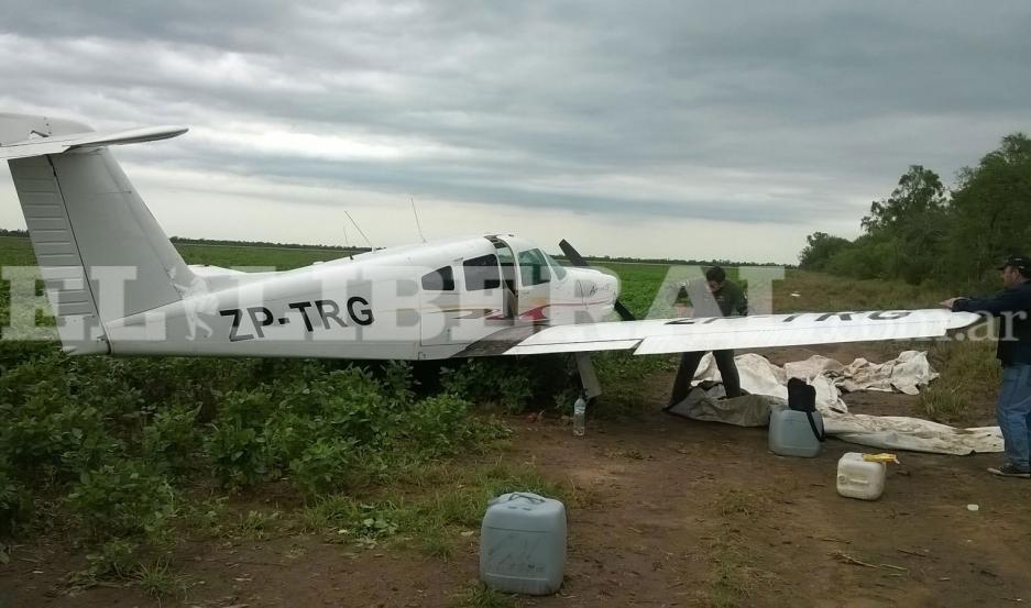 Esta es la aeronave secuestrada por los uniformados.