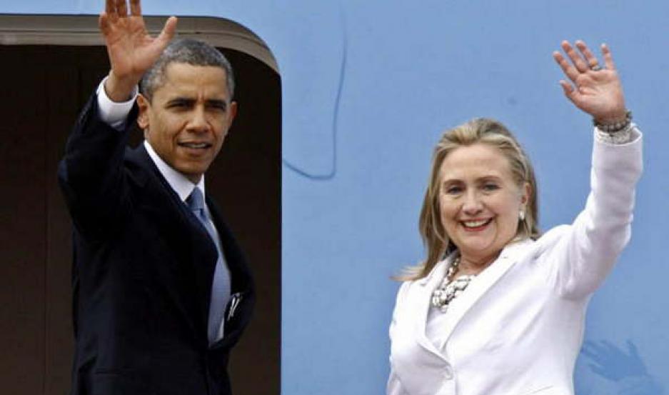 MENSAJE. Obama destacó las virtudes de Hillary Clinton, con vistas a las elecciones presidenciales en EE.UU. que tendrán lugar en noviembre.