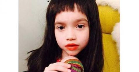 La hija de sof a gala ya se perfila como una futura diva - Diva futura foto ...
