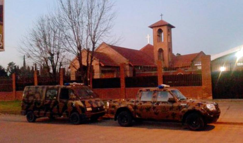 El convento de Nogoyá, Entre Ríos