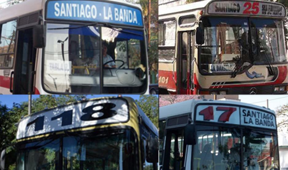 Boleto electrónico para colectivos del corredor Santiago - La Banda.