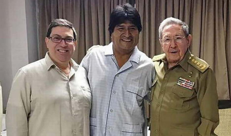 ACTIVIDAD. Sobre su futuro político el presidente boliviano dijo que
