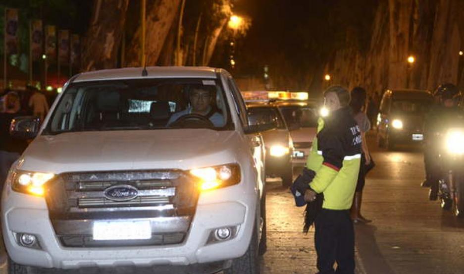 PRECAUCIÓN. Desde la Dirección de Tránsito aconsejaron a los conductores circular con prudencia.