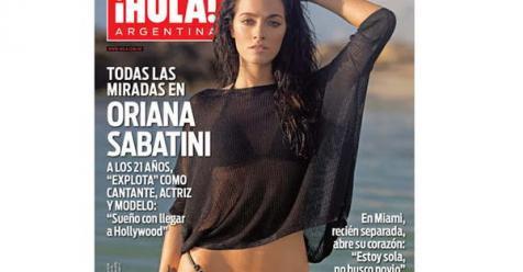 Oriana sabatini ntima en la nueva edici n de la revista for Revistas argentinas de farandula