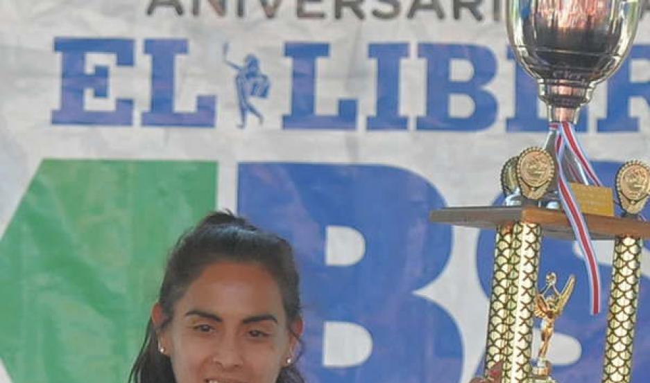 INSUPERABLE. María Ovejero se subió a lo más alto del podio.