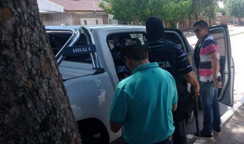PRESO. Con una manda judicial firmada por el Dr. Viaña, la policía logró reducir al acusado y ponerlo tras las rejas.