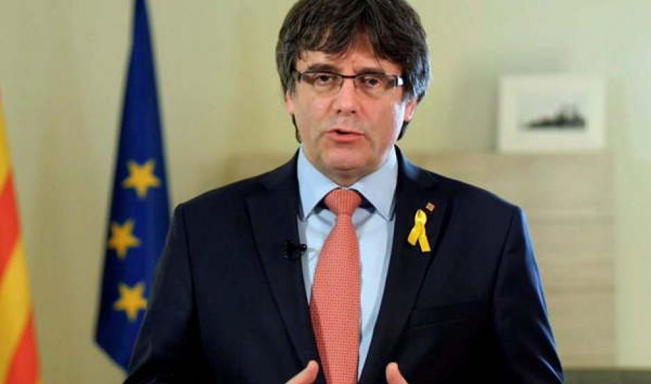 PLAN. Desde su exilio en Bélgica, el líder catalán Carles Puigdemont busca alternativas para continuar con la campaña independentista.