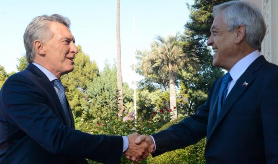 Macri y Piñera.