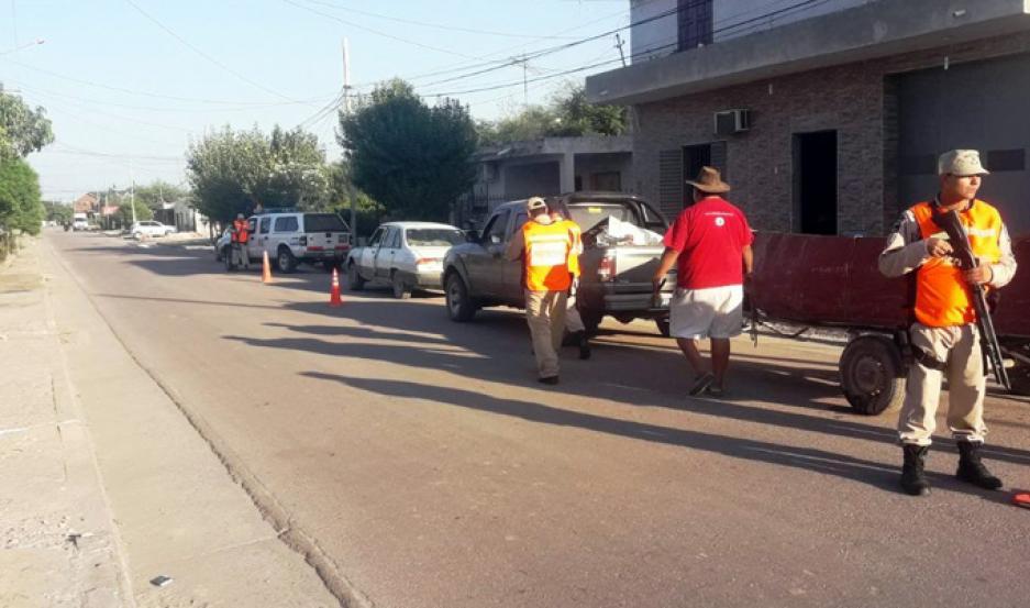 Secuestran sábalos y redes en operativo en Las Termas.