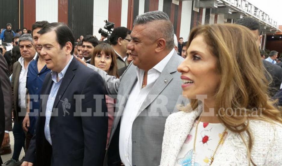 Arribó el gobernador Gerardo Zamora al Nodo Tecnológico