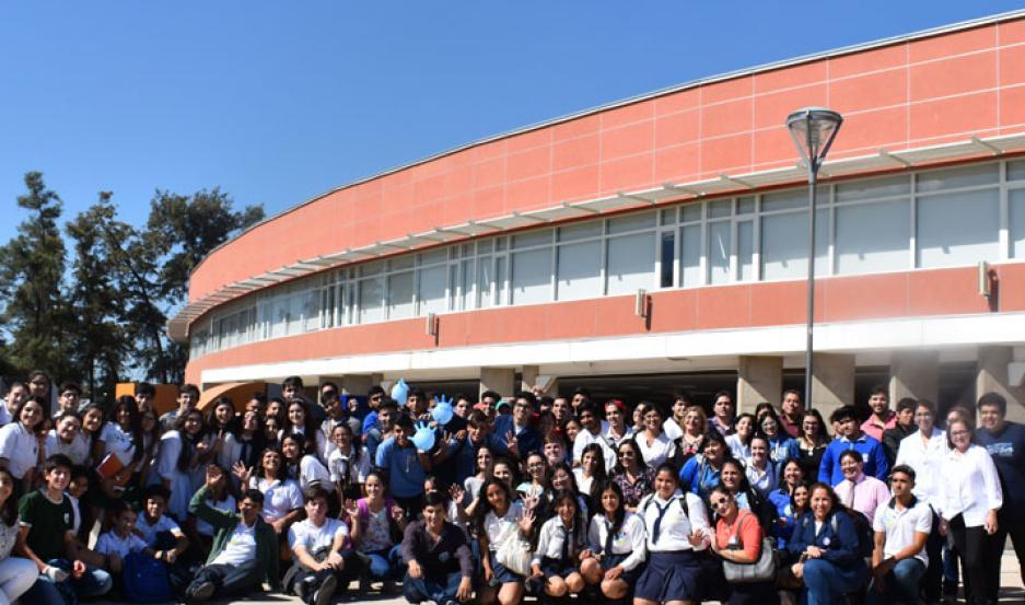 Estudiantes y docentes participaron de la jornada en el Nodo Tecnológico.
