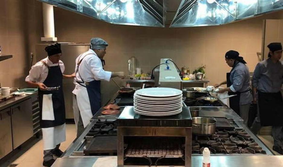 CERTAMEN. Los chefs que trabajan en Las Termas podrán participar de un nuevo desafío gastronómico.