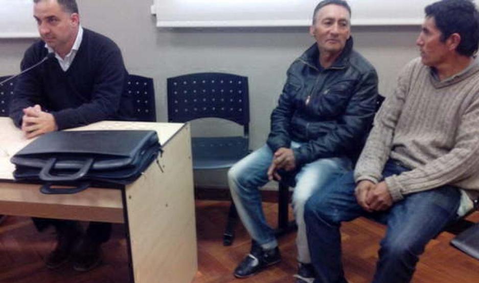 PRESOS. Los Montenegro ayer fueron llevados a Tribunales. La indagatoria se pospuso para el martes próximo.