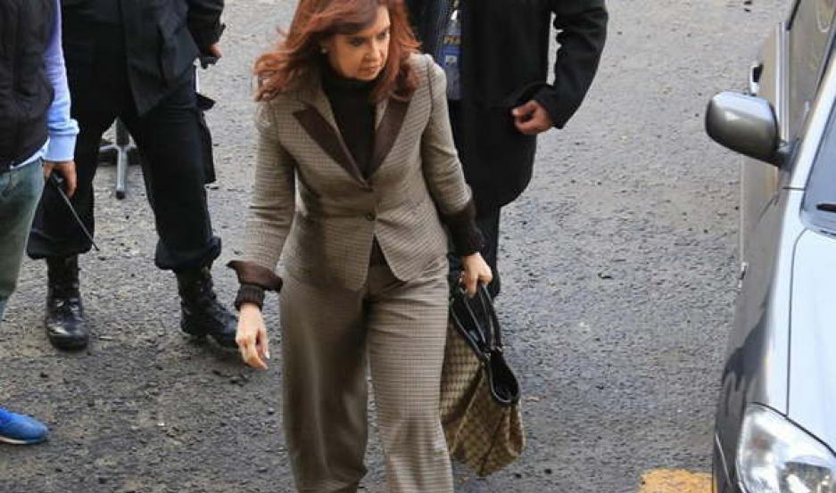 COMPLICADA. Cristina pidió la nulidad del expediente que la tiene imputada como jefa de una asociación ilícita.