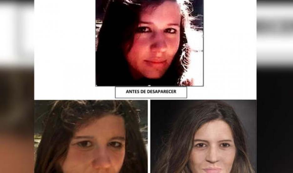 IMAGEN. A través de programas especiales, se brindó una imagen de cómo se vería hoy María Cash, desaparecida hace más de 7 años.