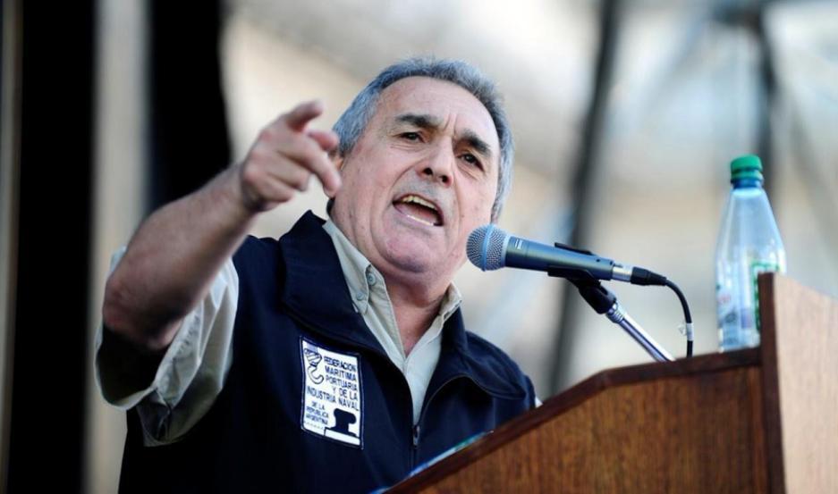 El secretario general de la CGT Juan Carlos Schmid