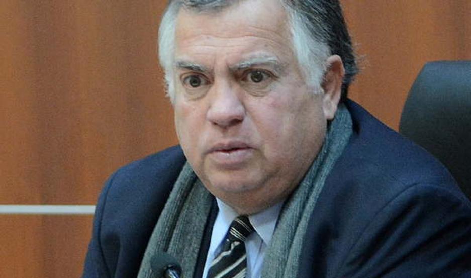 DECISIÓN. El juez Fernando Viaña dijo no al pedido de arresto domiciliario, planteado por la defensa.