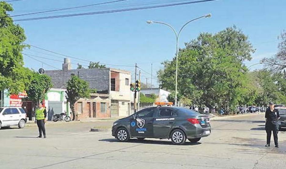 Alerta Banda intervino en evacuación por fuga de gas