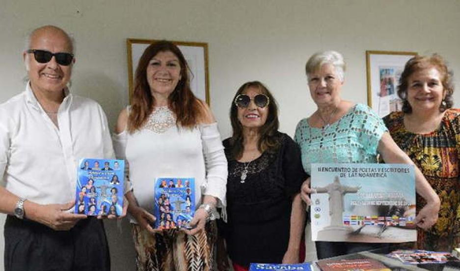 PARTICIPANTES. Los santiagueños contaron su experiencia sobre lo vivido en Bolivia.