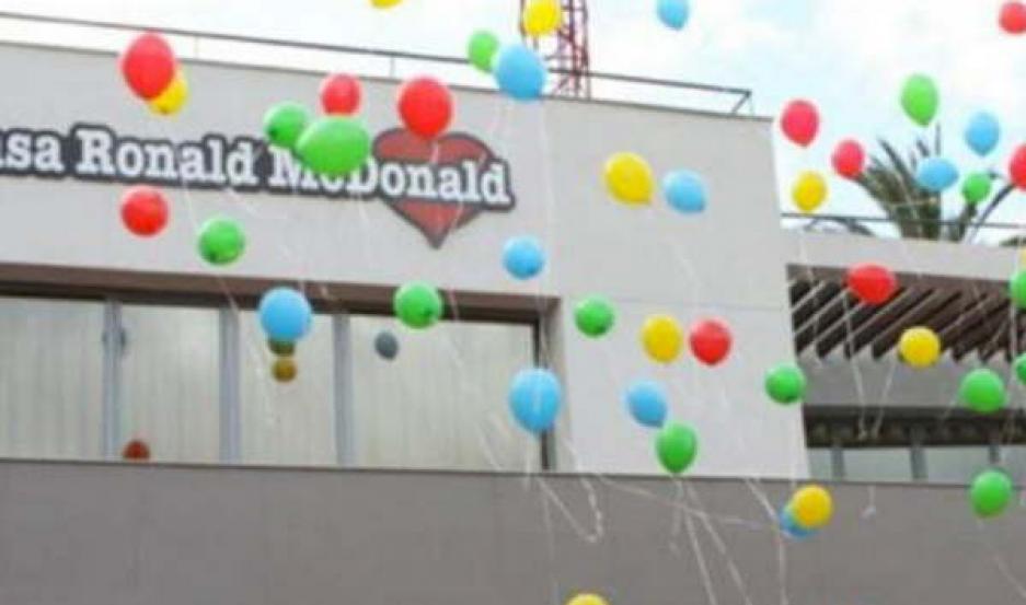 SOLIDARIDAD. La empresa también destinará lo recaudado durante ese día a la Casa Ronald McDonald's.