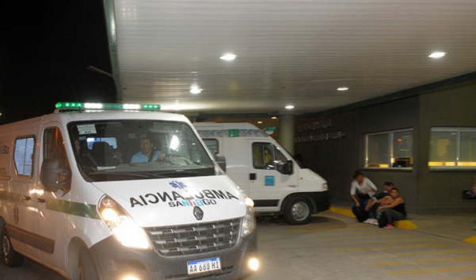 INTERNADO. Fue derivado de urgencia al Hospital Regional, donde aún se encuentra hospitalizado.