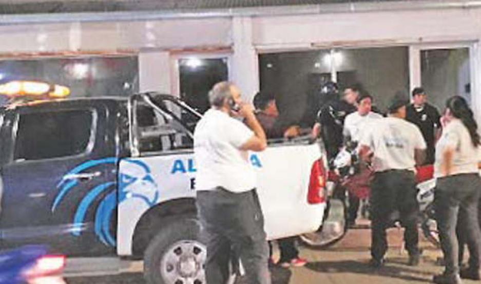 Alerta Banda ayudó en la detención de  un delincuente