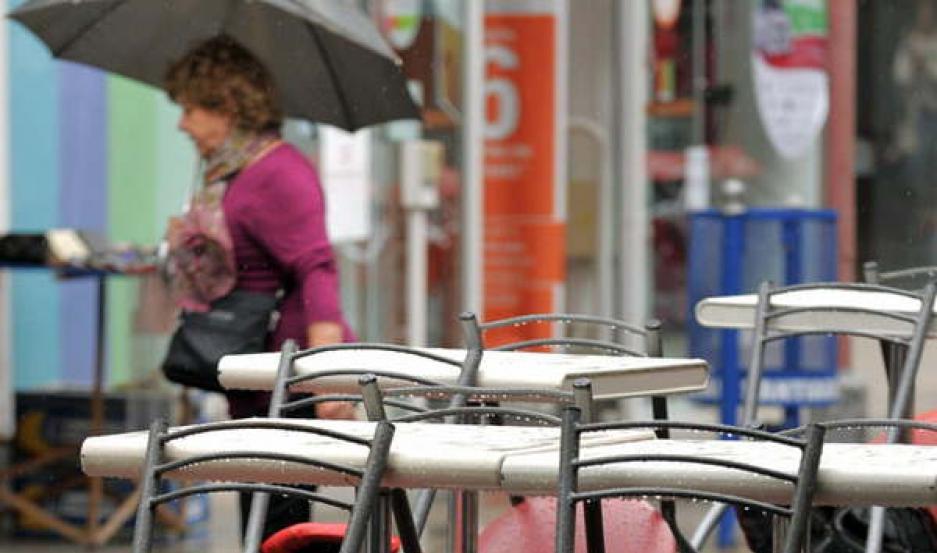 DESMEJORA. La lluvia sería otra vez protagonista.