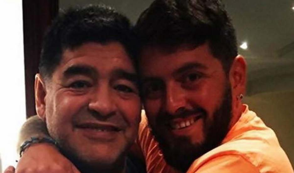 La relación entre Maradona y Diego Jr. se inició hace un par de años luego de una larga lucha emprendida por el joven para lograr su filiación.