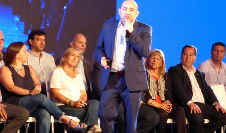 PARTICIPACIÓN. Pablo Mirolo reconoció la proyección del FR como alternativa para las presidenciales 2019.