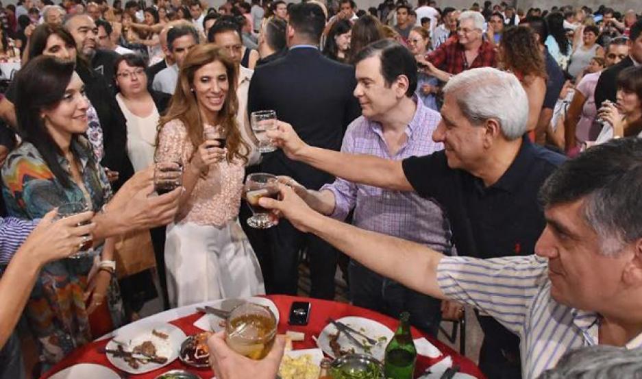 Zamora participó del brindis de fin de año del Frente Cívico de La Banda
