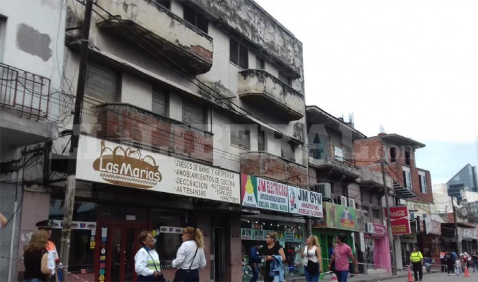 Este edificio podría derrumbarse.