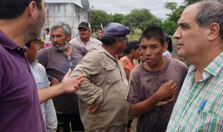 COBERTURA. El Gobierno de la provincia puso todos sus recursos a disposición de las familias afectadas.