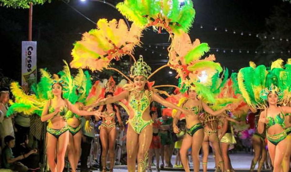 ESPECTÁCULO. En Las Termas se viene un Carnaval con mucho baile, ritmo y alegría en otra edición de los Corsos del Norte.