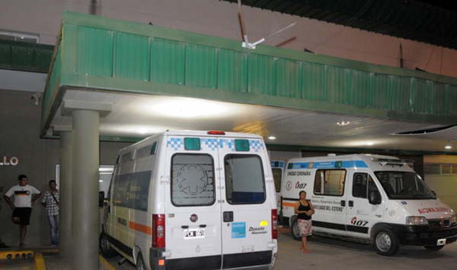 La víctima se encontraba internada en el hospital Regional con pronóstico reservado.