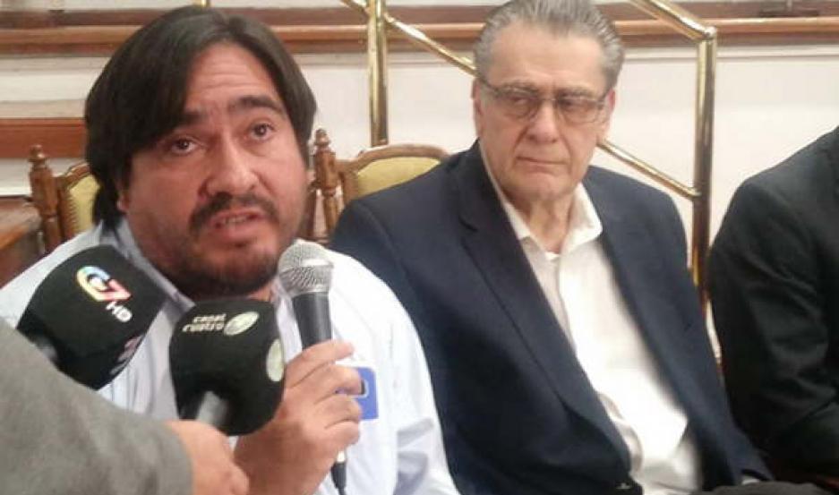 TRABAJOS. Guzmán detalló la situación de El Cuadrado y Los Juríes.