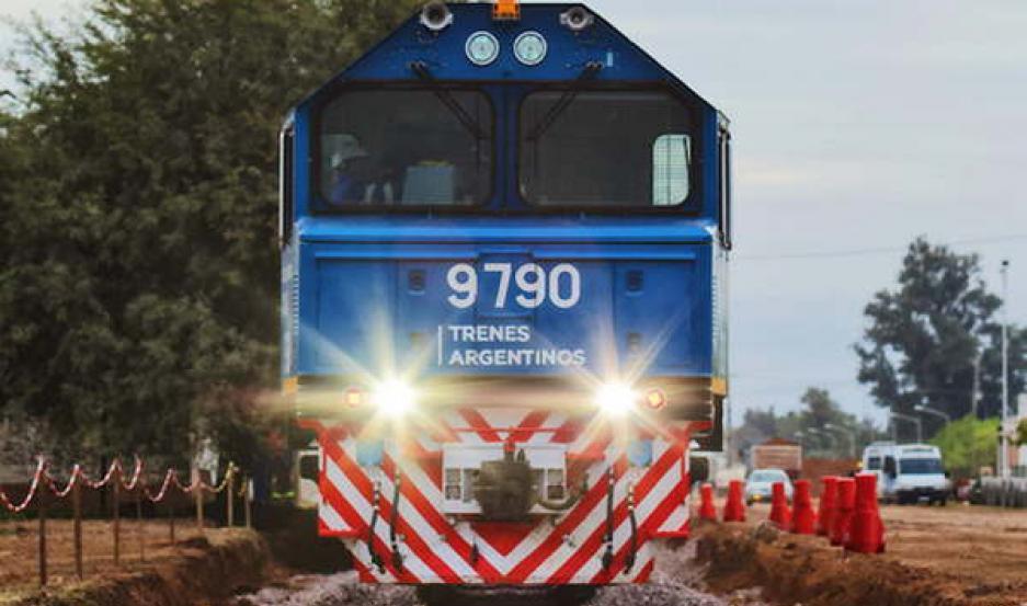 AVANCE. Con el nuevo material rodante incorporado, las tres líneas de carga estatales, proyectan transportar 6 millones de toneladas en 2019.