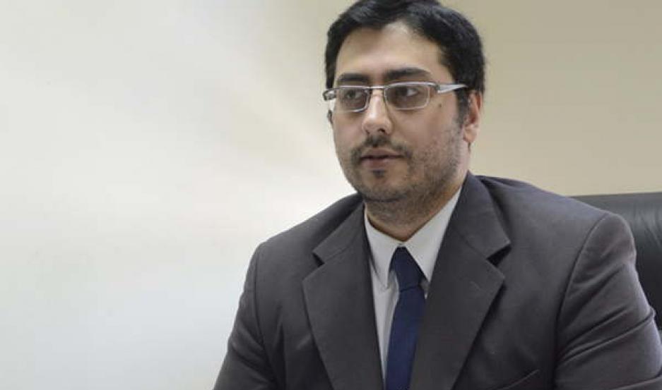 FISCAL. El Dr. Ángel Belluomini tomó intervención en el caso y ordenó que la policía busque a los ladrones.