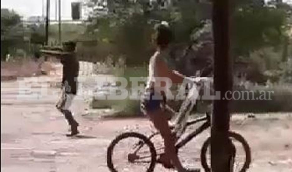 Tensión en el barrio Tradición de Añatuya por un tiroteo