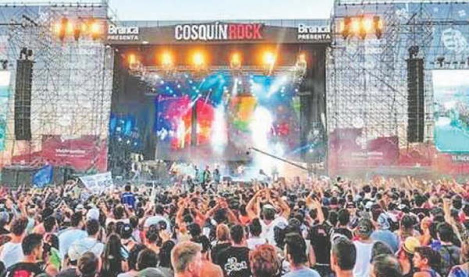 Más de 110.000 personas pasaron por el Cosquín Rock