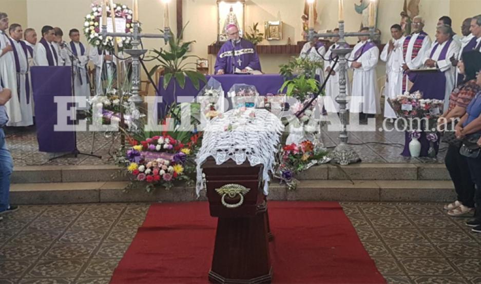 Acompañaron a monseñor Vicente Bokalic todo el clero de Santiago del Estero.