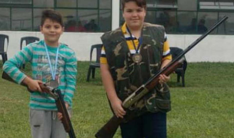 CATEGORÍA. Los menores también participaron.
