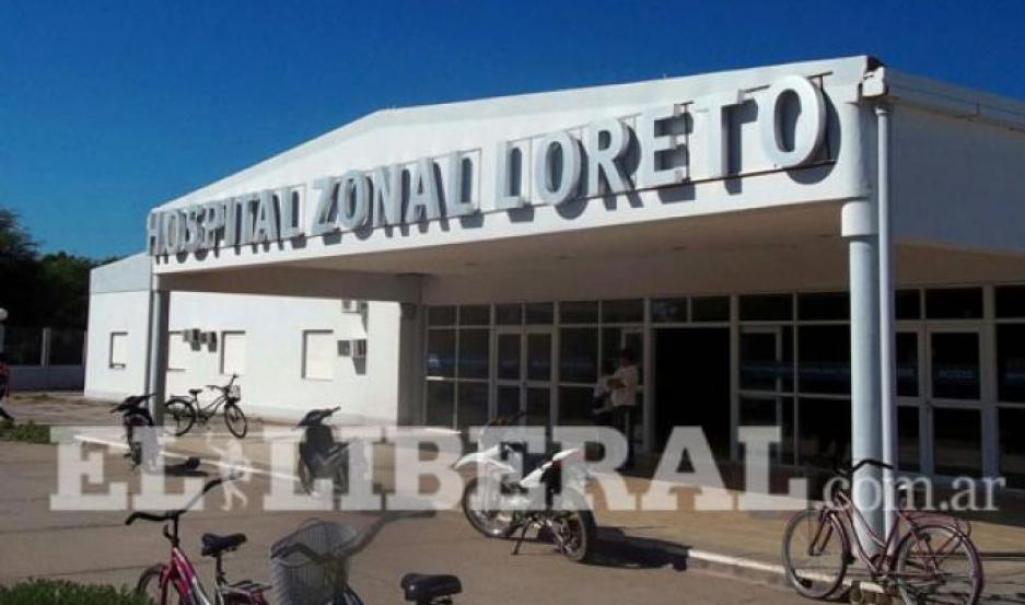 Tras el grave incidente, la mujer fue internada en el Hospital de Loreto.