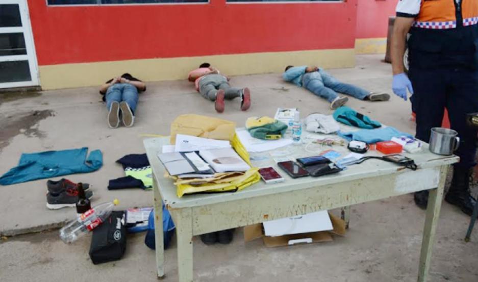 Los acusados fueron interceptados por policías de Santiago del Estero, en un operativo supervisado desde Las Termas.