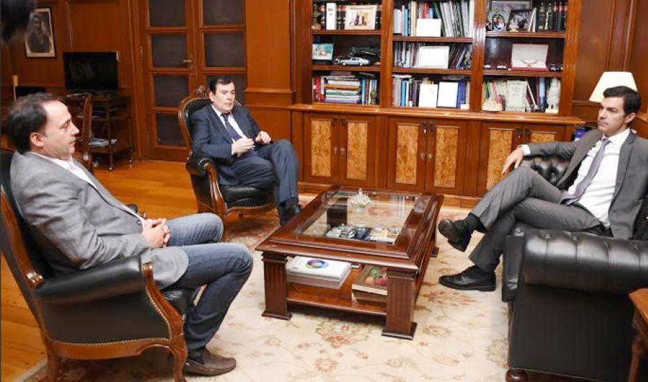 Zamora recibió al gobernador de Salta, Juan Manuel Urtubey.