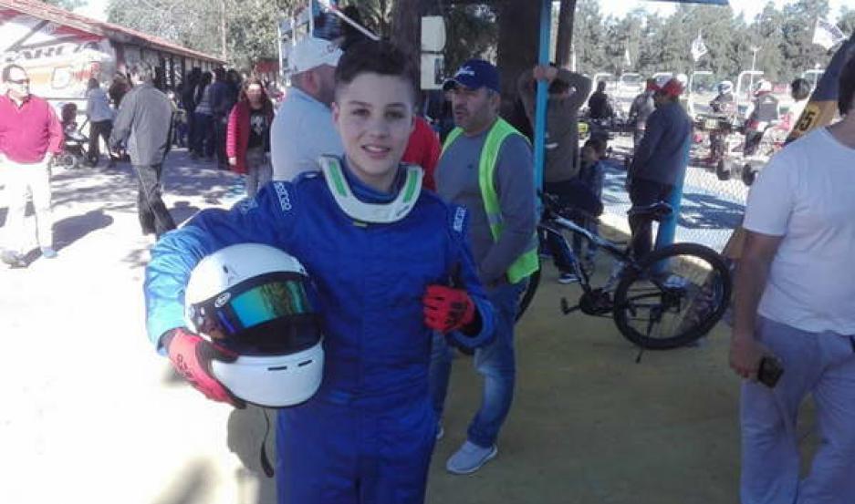 JUVENTUD. Ignacio Brunetti será uno de los jóvenes pilotos que representarán a Santiago en esta fecha nacional.