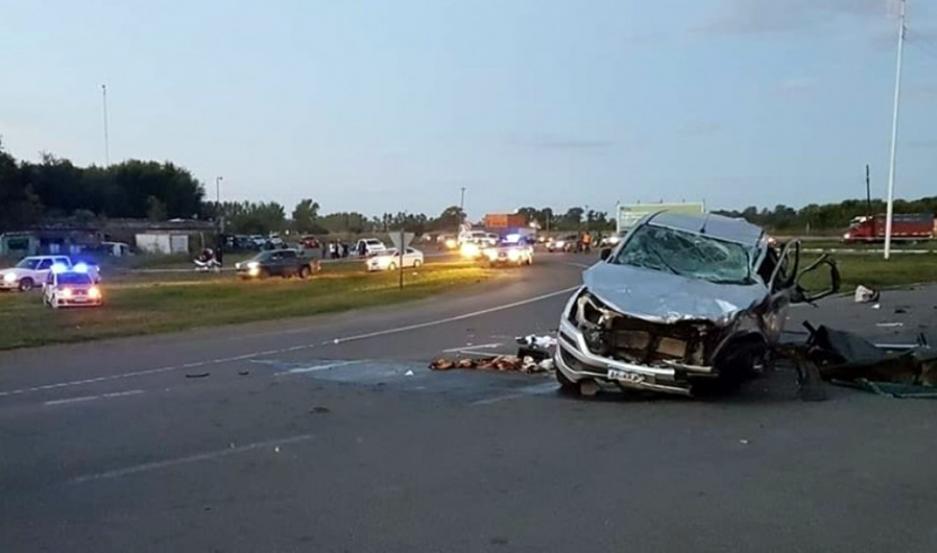 Hace casi un mes, 9 personas murieron en la misma ruta, a pocos kilómetros del nuevo accidente.
