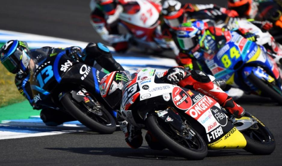 Niccolo Antonelli (Honda) ganó el GP de España de Moto3