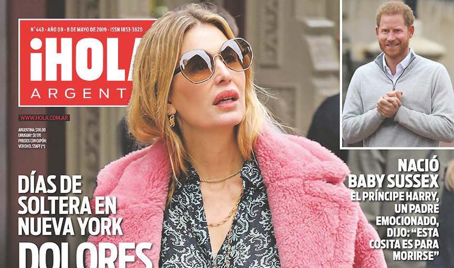 Revista Hola Argentina 2019 Ponto Cruz Andreia