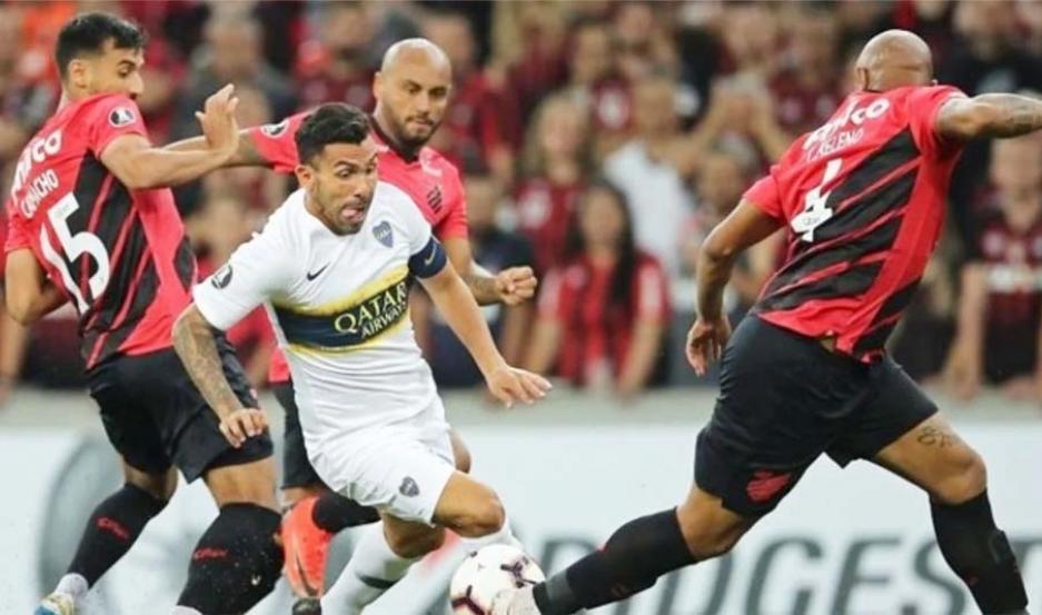 Dos casos en doping en Atlético Paranaense — Copa Libertadores