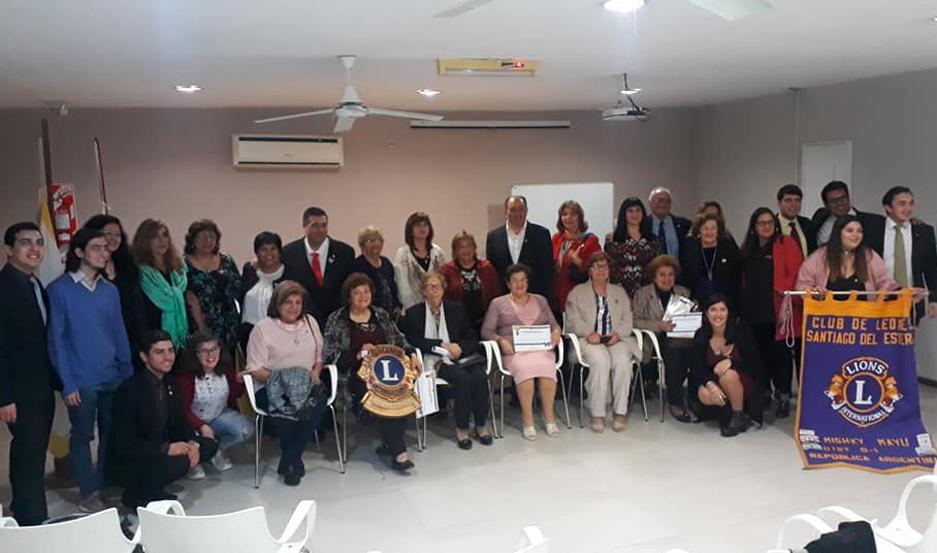 El Club de Leones Mishky Mayu celebró su 20° aniversario
